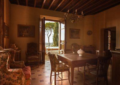 Villa Santo Stefano_sala pranzo