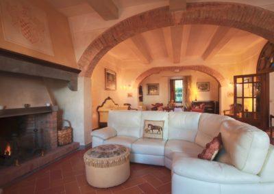 Villa Santo Stefano_salotto
