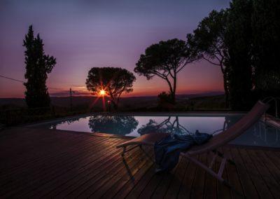 Villa Santo Stefano_tramonto_piscina