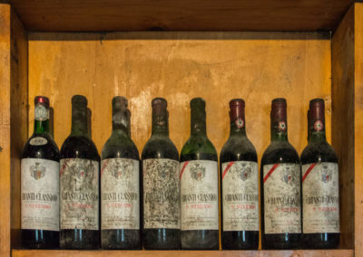 Bottiglie storiche