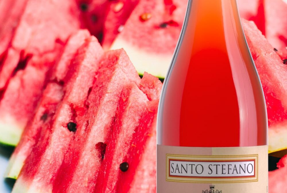 Rosato and watermelon refresh the palate