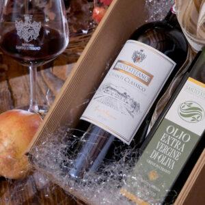 Gift Box: Vino e Olio